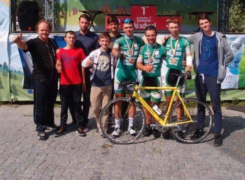 Черкаські велосипедисти увійшли до трійки найкращих на чемпіонаті України