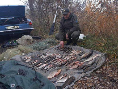 На Черкащині браконьєри наловили риби майже на дев'ять тисяч гривень (фото)