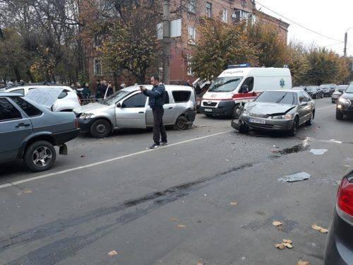 На Черкащині студент-іноземець скоїв масштабну ДТП (фото)