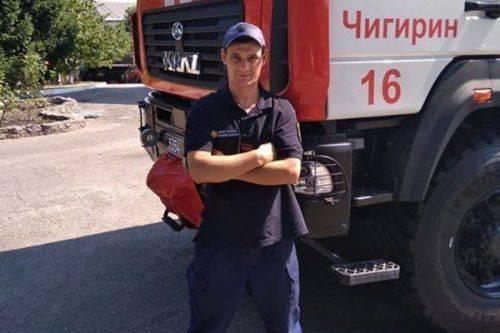 Водій ДСНС з Черкащини врятував пасажирів автобуса, який ледь не втрапив у ДТП
