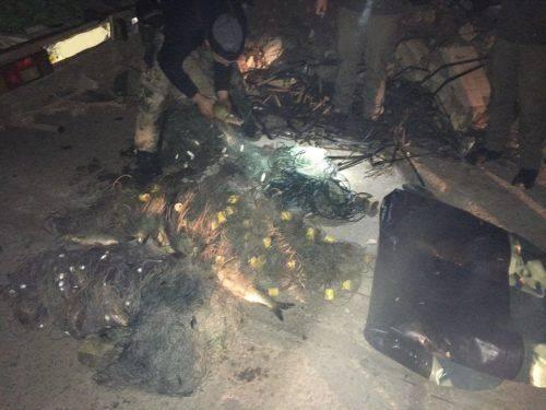 На Черкащині затримали чоловіка, який незаконно виловив 25 кг риби (фото)