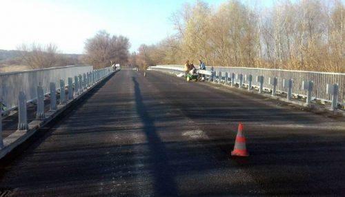 На Черкащині завершується ремонт мосту через річку Рось