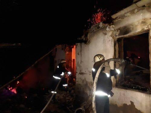 Житель Черкащини постраждав під час пожежі в будинку (фото)