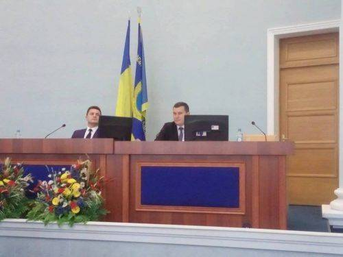Валентин Тарасенко виконуватиме обов'язки голови обласної ради