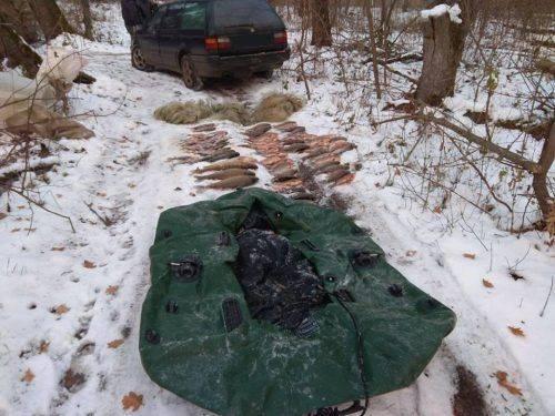 На Черкащині затримали браконьєрів, які виловили 50 кг риби (фото)