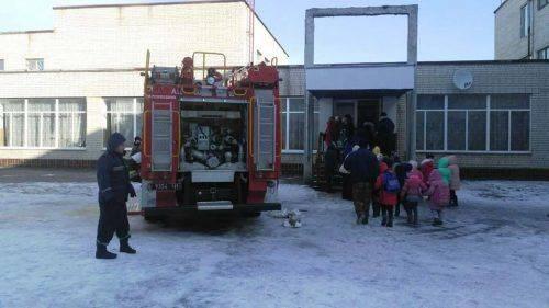 На Черкащині горіла школа, у які знаходилося 400 дітей