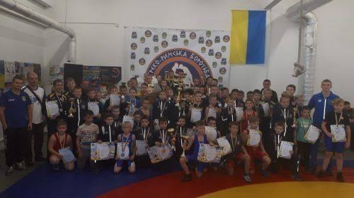 Спортсмени з Черкащини здобули нагороди на змаганнях із греко-римської боротьби