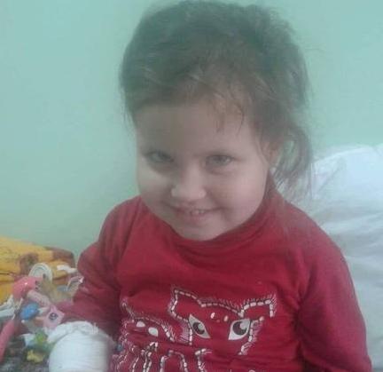 У Черкасах трирічна дитина потребує значних коштів на лікування
