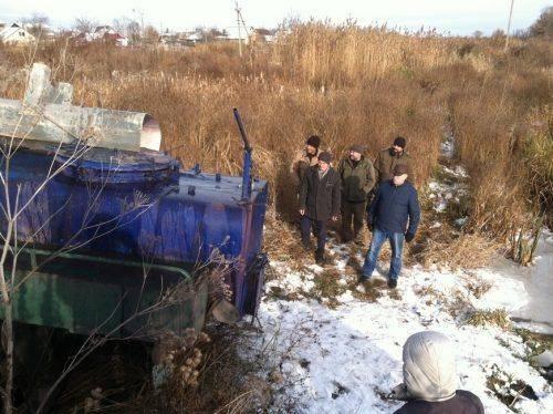 На Черкащині до Золотоношки випустили дві тонни товстолобика (фото)