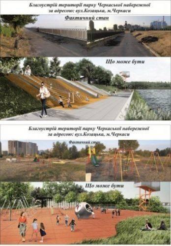 Громадський бюджет: 12 проектів з благоустрою для Черкас
