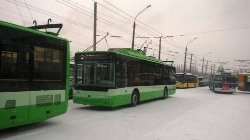 На одному із маршрутів Черкас курсуватиме додатковий тролейбус