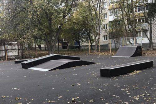 В Умані побудували скейт-парк (фото)