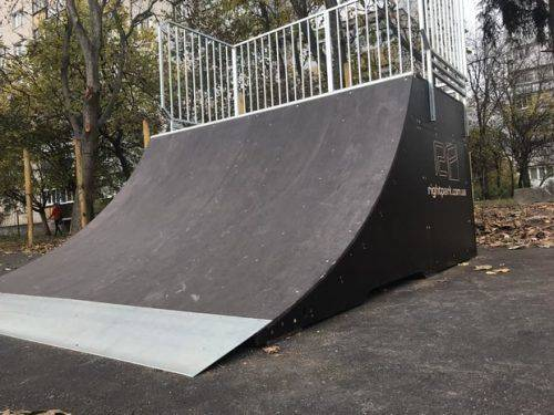 В Умані побудували скейт-парк