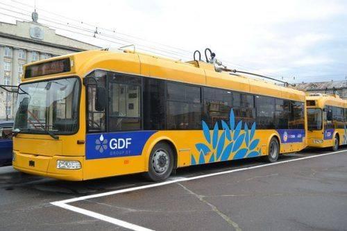 Розклад вечірніх рейсів тролейбусів на 14 листопада