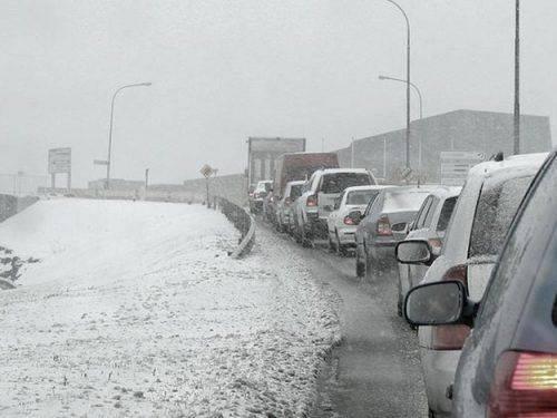 На Черкащині два автобуси та 40 автомобілів потрапили до снігових заторів
