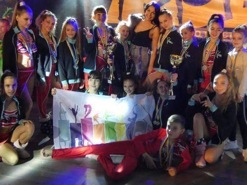 Юні танцюристи Черкас здобули нагороди на престижних змаганнях