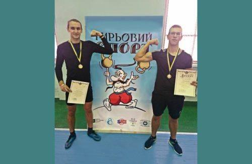 Спортсмени з Черкащини увійшли до трійки найкращих на Кубку України з гирьового спорту