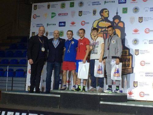 Боксери з Черкащини здобули нагороди на чемпіонаті України
