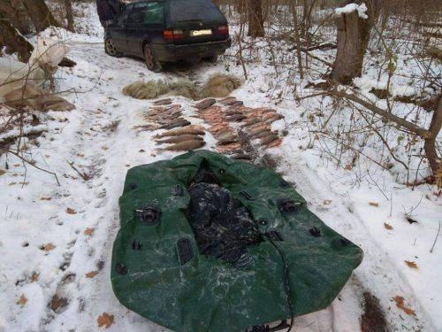 На Черкащині браконьєри наловили риби на понад 252 тисячі гривень