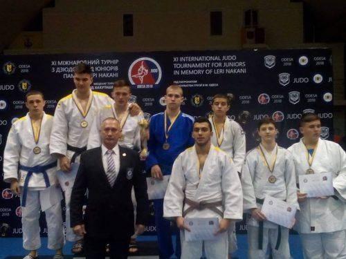 Черкаські дзюдоїсти здобули нагороди на міжнародному турнірі