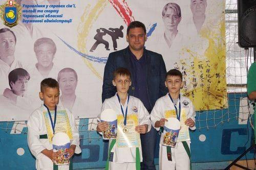 У Черкасах відбувся турнір молодшої ліги з традиційного карате