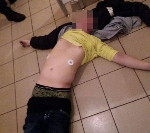 У супермаркеті Черкас знайшли мертвого чоловіка