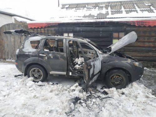 У Черкасах невідомий скоїв підпал автівки