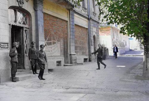 Уманчанин осучаснив історичні фотографії рідного міста (фото, відео)