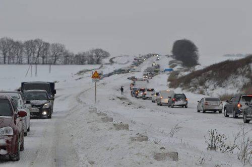 Черкаські водії не зможуть в'їхати до Полтавської області