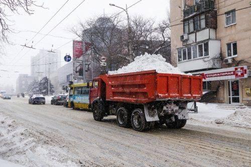 Куди вивозитимуть сніг черкаські комунальники