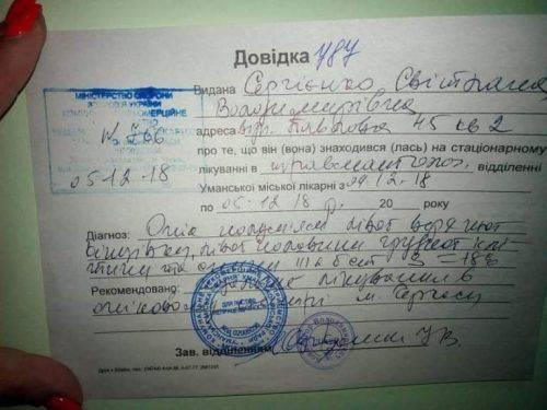 На Черкащині збирають кошти на лікування жінки, яка отримала 20 % опіків тіла