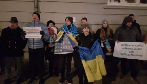 Асоціація українців Данії вимагає звільнення захоплених українських моряків