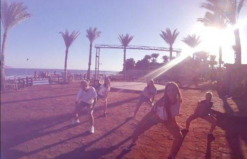 Танцюристи з Черкащини зняли в Єгипті кліп для MTV (відео)