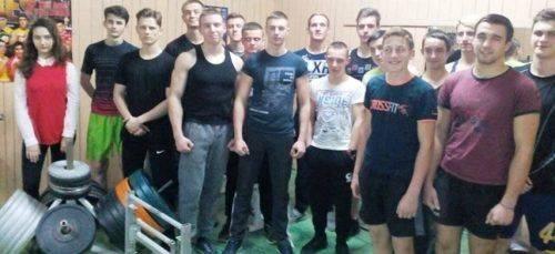У Черкасах визначили найсильніших на чемпіонаті з підйому на біцепс