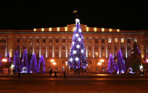 У міській раді розповіли, де і коли встановлять новорічну ялинку в Черкасах