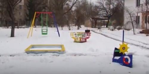 Спільнота IT-фахівців подарувала ігровий майданчик дітям Черкаського міського притулку (відео)