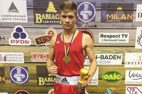 Черкаський боксер увійшов до трійки найсильніших на чемпіонаті України