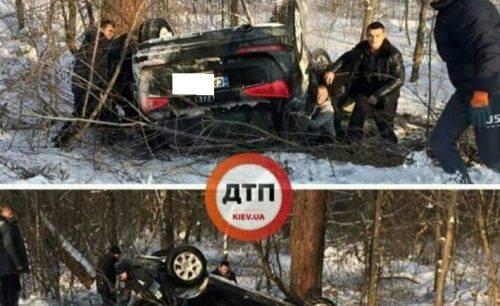 На Київщині сталася ДТП за участю автівки з черкаською реєстрацією