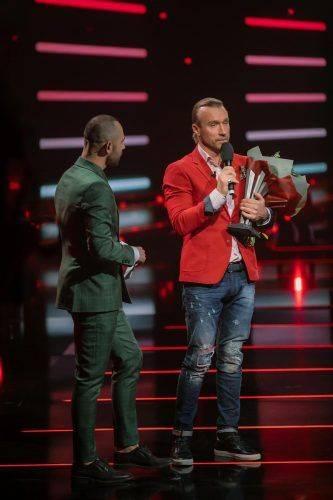 """Олег Винник став співаком року за версією """"M1 Music Awards"""""""