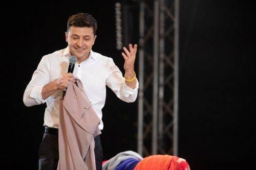 Володимир Зеленський: Президент має бути перш за все порядною людиною