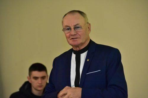 Відомий український письменник Володимир Яворівський презентував новий роман у черкаському виші