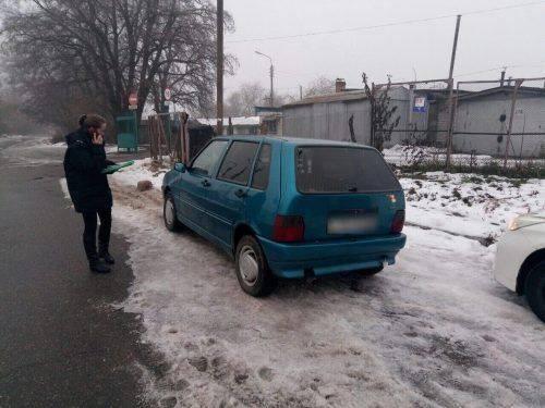 Черкаські патрульні виявили автомобіль, який перебував у розшуку