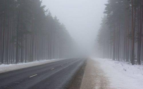 Туман та ожеледиця: водіїв Черкащини попереджають про ускладнення погодних умов
