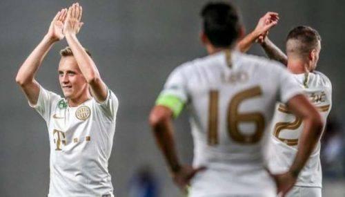 Черкащанин потрапив до символічної збірної чемпіонату Угорщини