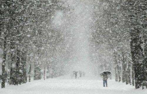 На Черкащині прогнозують снігопади та хуртовини