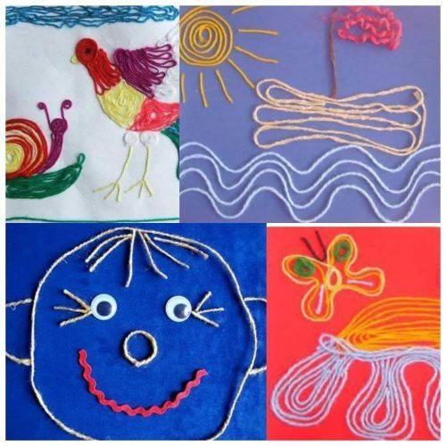 Черкаську малечу навчатимуть створювати картини з ниток