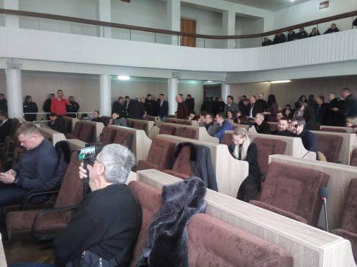 У Черкасах знову не проголосували за бюджет (фото)