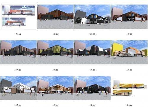 У мережі з'явилися фото нового дизайну Будинку торгівлі