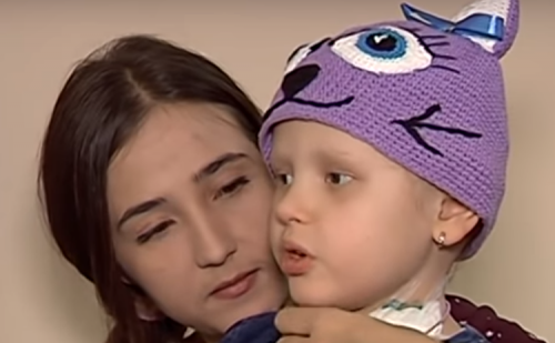У Черкасах збирають кошти на лікування п'ятирічної дівчинки (відео)