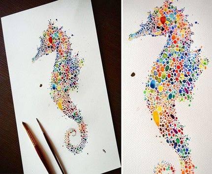 Черкаську малечу навчатимуть створювати малюнки за допомогою крапель